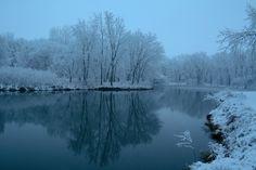 shades, blue lake, stars, winter lake, lakes, winter scenes, blues
