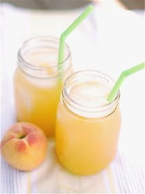 *Riches to Rags* by Dori: Roasted Peach Lemonade