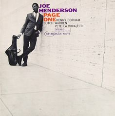 """""""Page One"""" Joe Henderson album cover designed by Reid Miles, photograph by Francis Wolff Lp Cover, Vinyl Cover, Lp Vinyl, Cover Art, Rare Vinyl, Vinyl Art, Vinyl Records, Page One, Blue Note Jazz"""