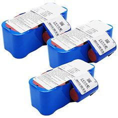 #household The #Exell EBVB-182 NiMH 14.4V Battery Fits HOOVER HSV40. Replaces HOOVER HSV4007 The Exell EBVB-182 NiMH 14.4V Battery has better performance (higher...