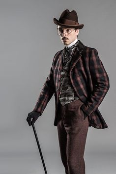 David Dawson as Fred Best in 'Ripper Street' 2012-2015.