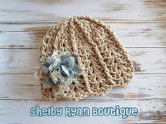 Crochet Pattern for Ashlyn Hat - 6 sizes, baby to adult - Welcome to sell finished items. $4.95, via Etsy.
