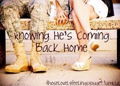 He's coming back Home.