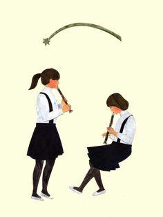 Shuku Nishi (西 淑) https://www.pinterest.com/itsasourdaibai/illustrators-of-oriental/