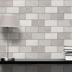 Modena Mix of Grey Brick Tiles