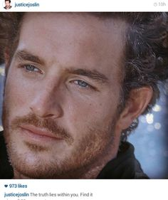 Loved his face ♥ Blue Hazel Eyes, Cute Freckles, Justice Joslin, Canadian Football League, Fifty Shades Movie, Truth And Lies, Beautiful Men Faces, Male Poses, Christian Grey