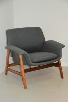 Gianfranco Frattini 1956 armchair for Cassina - something like this for the living room