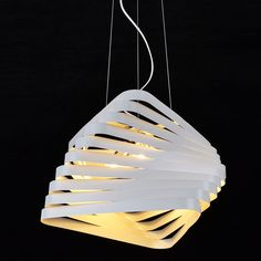 3-Light White Metal Pendant Lamp Suspension Ceiling Light Chandelier Lamp Chrome