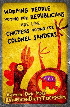 Working people voting Republican -