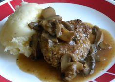 Crockpot Salisbury Steak This is my kind of meal. The kind that requires no attention, has easy cleanup, and everyone licks their plates clean! Oh….What's that? You want the recipe. Sure! Here ya go!