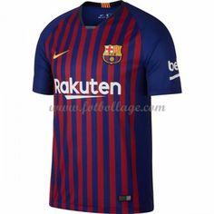 size 40 0b4d0 91fe1 Fotbollströjor Barcelona 2018-19 Hemmatröja Fc Barcelona