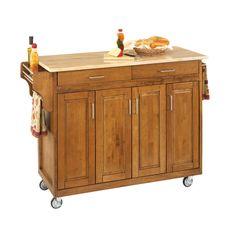 home styles create cart kitchen island amp reviews wayfair sleek black with storage cabinets