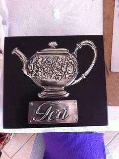 Tea box 4 division by Amanda Stein designs