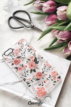 Click through to see more iPhone 6 phone case designs by @HarvestPaperCo >>> https://www.casetify.com/HarvestPaperCo/collection #phonecase #floral #floralprint #protective | @casetify