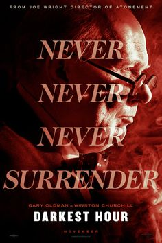 First Poster for 'The Darkest Hour' - Drama Starring Gary Oldman & Ben Mendehlson Streaming Hd, Streaming Movies, Hd Movies, Movies To Watch, Movies Online, Movie Film, Blockbuster Movies, Movies Free, 2018 Movies