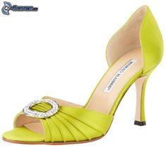Manolo Blanik Shoes   evening shoes Manolo Blahnik