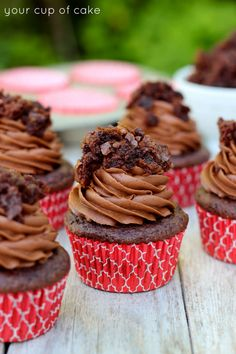 Brownie Batter Cupcakes