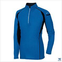 【楽天市場】長袖ハーフジップシャツ TULTEX 接触冷感、吸汗速乾az-551031:スポーツインナーsportsTK