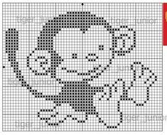 Cross Stitch Alphabet, Cross Stitch Charts, Cross Stitch Designs, Cross Stitch Patterns, Knitting Patterns Boys, Crochet Blanket Patterns, Baby Blanket Crochet, Baby Owls, Crochet Squares