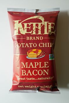 We tried Maple Bacon Potato Chips from Kettle . . . find out if they're worth buying