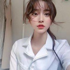 Asian Makeup, Korean Makeup, Korean Beauty, Asian Beauty, Aesthetic People, Aesthetic Girl, Pretty Asian, Beautiful Asian Girls, Hong Young Gi