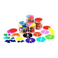 Rainbow Fraction Deluxe Circles - For Overhead projectors