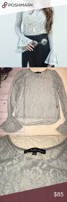 For Love & Lemons curtsy top Brand new without tags, never worn. No flaws. Purchased from another seller but fits more like a small than a medium in my opinion so re-selling. Reasonable offers welcome. Bundle to save! For Love And Lemons Tops Blouses
