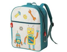 Boys enjoy a cool backpack, too! Matching lunchbox available.
