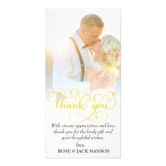 #elegant gold script wedding thank you card - #GroomGifts #Groom #Gifts Groom Gifts #Wedding #Groomideas Bridal Gifts, Wedding Gifts, Wedding Ideas, Gold Wedding, Elegant Wedding, Groom Gifts, Card Ideas, Gift Ideas, Diy Accessories