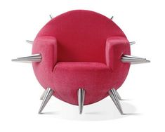 """funky chair design called """"the bomb"""""""