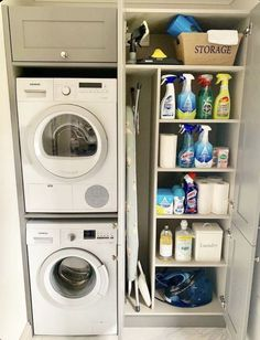 Laundry Room Layouts, Laundry Room Remodel, Small Laundry Rooms, Small Utility Room, Small Rooms, Laundry Room Ideas Stacked, Kitchen Ideas For Small Spaces, Boot Room Utility, Compact Laundry