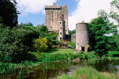 Blarney Castle - Ireland  ~~~  First place we're going when (not if) my Sarc is under control.