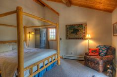 Strawberry Creek Room Colorado Mountains, Your Perfect, Bed And Breakfast, Toddler Bed, Places To Visit, Strawberry, Horse, Room, Furniture