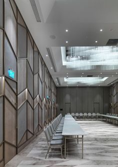 Image 2 of 42 from gallery of Naz City Hotel Taksim / Metex Design Group. Photograph by Cemal Emden Commercial Design, Commercial Interiors, Ballroom Design, Hotel Design Architecture, Function Hall, Hotel Meeting, Hotel Interiors, Hotel Lobby, Hospitality Design