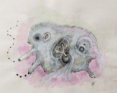 Multi talented Gabriela Fridriksdottir from Iceland, more at http://www.gabriela.is/ paintings, drawings, sculptures.