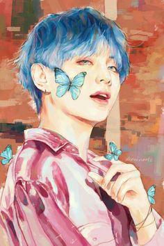 Đọc Truyện Fanart BTS - Boy with love - - Wattpad - Wattpad Fanart Bts, Taehyung Fanart, Bts Taehyung, Bts Jimin, Bts Photo, Foto Bts, Fan Art, K Wallpaper, Kpop Drawings