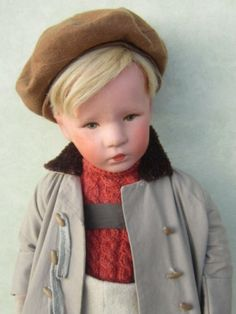 Alte Käthe Kruse Puppe Friedebald 30er Jahre   eBay