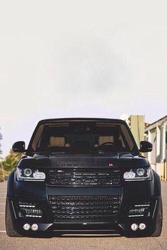 Black Range Rover