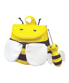 Love this Bee Backpack on #zulily! #zulilyfinds