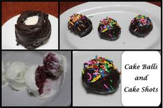 Cake Shots, Dessert Recipes, Desserts, Balls, Watch, Youtube, Food, Tailgate Desserts, Clock