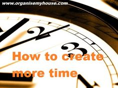 Time management Tips-- * offers suggestions to save time