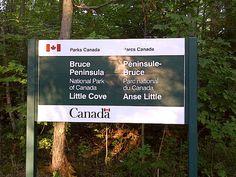 Bruce Peninsula National Park of Canada in Northern Bruce Peninsula, ON