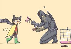 finally i watched BATMAN VS ROBIN. i love that movie so much!!