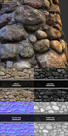 Stone wall 03. A seamless stone wall texture from www.CrazyTextures.com  This and other my textures you can find on the UE Marketplace: https://www.unrealengine.com/marketplace/38-architectural-textures