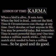 Strength Quotes : Karma