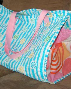 Criar com Tecidos: Bolsa de praia