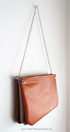 Ohoh Blog: DIY trio zipped bag