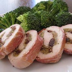 Prosciutto-Wrapped Cherry-Stuffed Chicken Breasts - Allrecipes.com