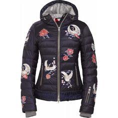 042ec33b048c Bogner Women's Ava-d Jacket Wms 1516 -- Dark Blue 2 Down Ski Jacket
