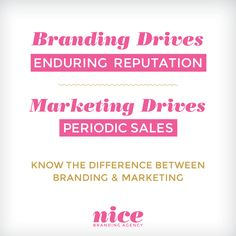 Why is #Branding long-term but #Marketing is not? Find out the answer on our #blog today!